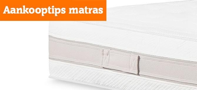 Waar moet u op letten bij de aanschaf van een matras?