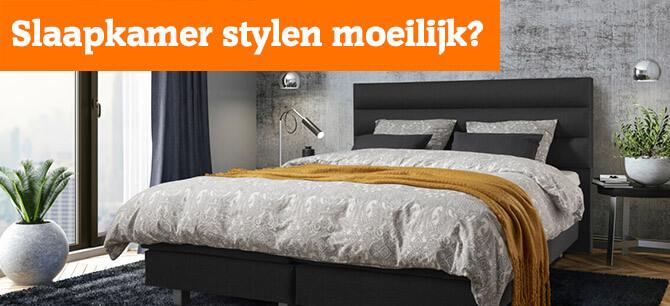 Slaapkamer stylen moeilijk?
