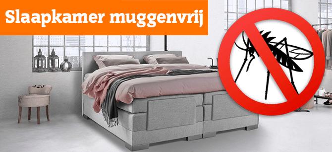 Hoe houdt u uw slaapkamer vrij van muggen maar toch koel?