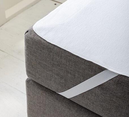 Matrasbeschermer met elastiek