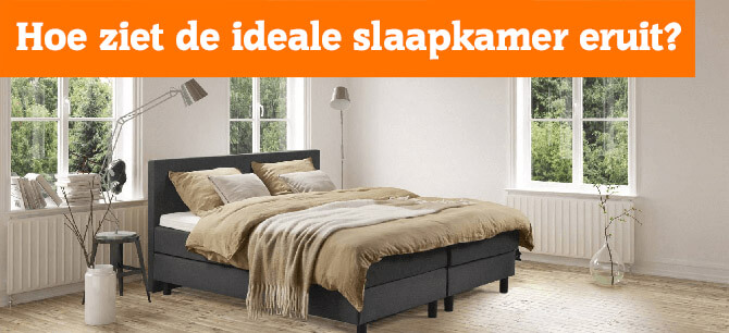 Hoe ziet de ideale slaapkamer eruit?