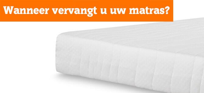 Wanneer is het tijd om uw matras te vervangen?