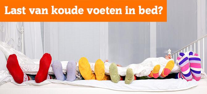 Hoe voorkomt u koude voeten in bed, zelfs in de zomer?